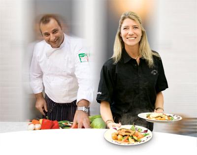 Mette og Nino på Restaurant Monello i Næstved
